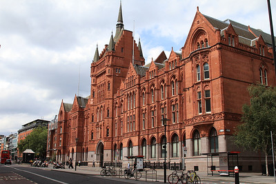 Holborn Bars, headquarters of Prudential Assurance when built in the late 19th century - 02/08/14.