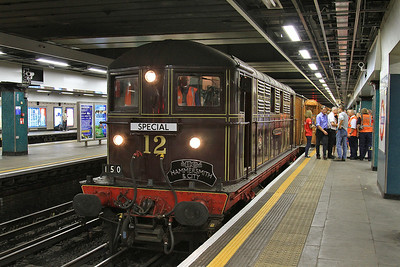 Met No.12 'Sarah Siddons', Moorgate, 150 14.25 special to Hammersmith - 02/08/14.