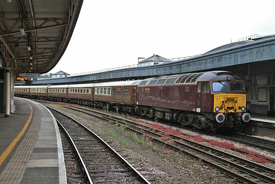 57315, Bristol Temple Meads, on rear of 1Z57 06.15 Sheffield-Minehead Charter - 19/07/14.