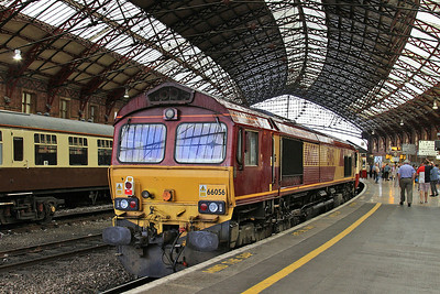 66056, Bristol Temple Meads, on rear of 1Z91 - 19/07/14.