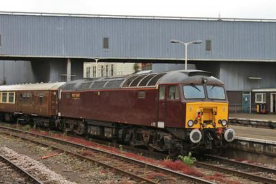 57315, Bristol Temple Meads, on rear of 1Z57 06.15 Sheffield-Minehead Charter - 19/07/14.
