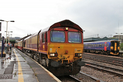 66117, Bristol Temple Meads, 1Z91 - 19/07/14.