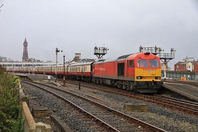 UK Railtours 'Lancashire Hills & Coast', 17th April 2014