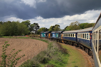 Charity Railtours 'The Four Triangles', 9th May 2015