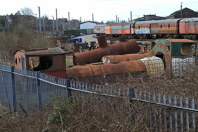 Kettle bits in the WCRC yard at Carnforth - 21/03/15.