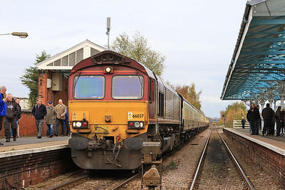 66037, Goole, on rear of 1Z26 - 14/11/15.