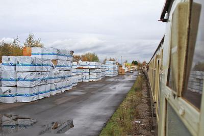 1Z25 on the truncated Stanhope dock line - 14/11/15.