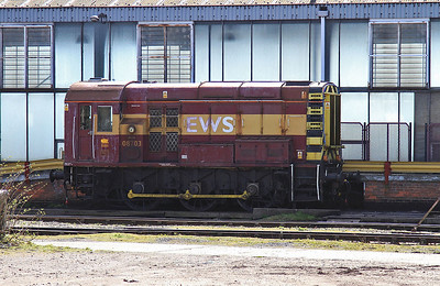 08703 stabled outside Immingham depot - 11/04/15.