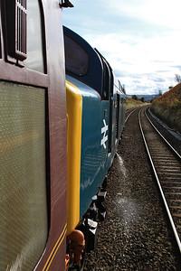 40145 approaching Buxton, 1Z47 - 30/09/16