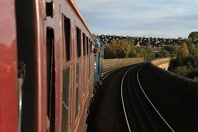 40145, Accrington Viaduct, 1Z49 - 01/10/16.