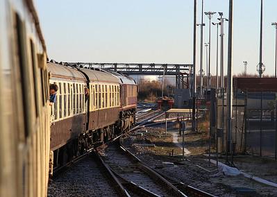 66177 arriving at London Gateway, 1Z58 - 29/12/16.