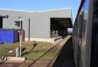 66019 leaving Tilbury IRFT, 1Z59 - 29/12/16.