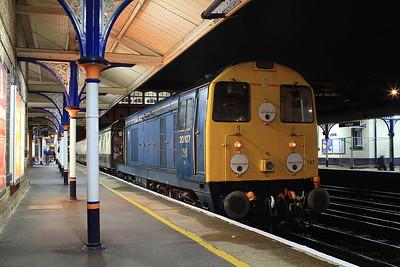 20107, Eastleigh, on rear of 1Z20 - 20/08/16.