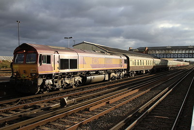 66086, Eastleigh, 1Z91 (train terminated here) - 05/11/16.