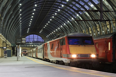 91130, London Kings Cross, 1D23 17.03 to Leeds - 05/11/16.