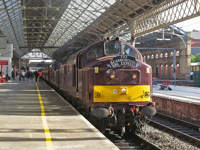 WCRC Tours 'The Scarborough Spa Express', 21st July 2016