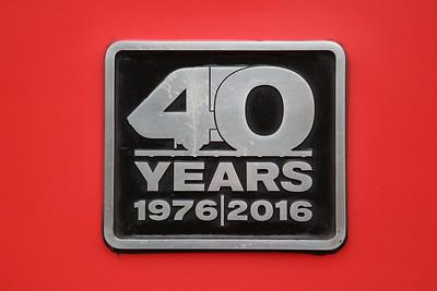 43300 commemorative plate - 18/03/17.