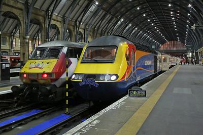 43082, London Kings Cross, on rear of 1Z40 - 18/03/17.