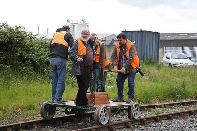 Gas Hill Ellesmere Port track bash, 13th June 2017
