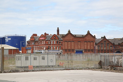 A couple very Liverpudlian blasts-from-the-past can be seen on these buildings ; 'Higsons' and 'Harland & Wolff' - 24/06/17