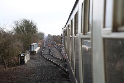 67005 on the rear of 1Z82, Edwalton - 29/12/17.