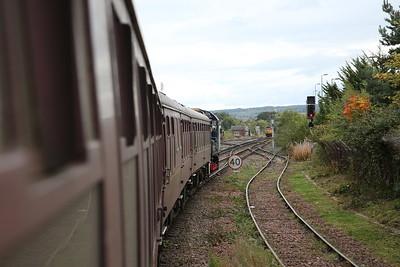 08523, Inverness, shunting 1Z49 to Milburn Jctn. - 24/09/17