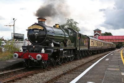 5043, Stratford-on-Avon, 1T53 16.18 to Birmingham Snow Hill - 23/07/17