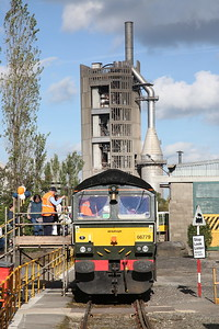 66779, Ribblesdale Cement Works, on public display / cab visits - 30/09/18