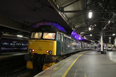 57603, London Paddington, 1C99 23.45 Sleeper to Penzance - 20/09/18