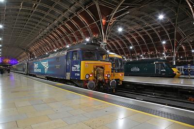 57306, London Paddington, 5C99 20.20 ECS ex Reading for the Penzance sleeper - 20/09/18