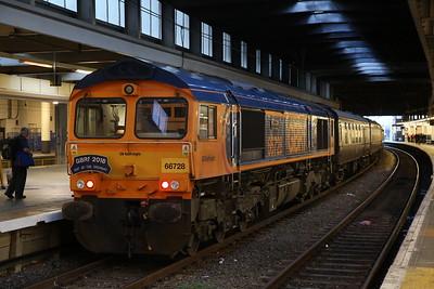 66728, London Euston, on rear of 1Z20 - 21/09/18