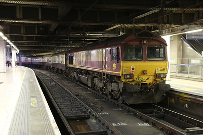 66122, London Paddington, on rear of 1Z27 - 27/01/18