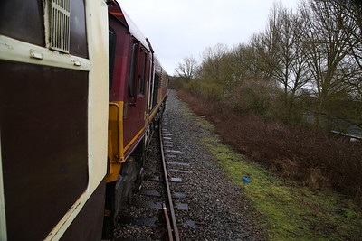 66122 at the end of the line at Morris Cowley - 27/01/18