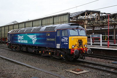 57304, Crewe, about to back onto 1Z05 - 10/02/18
