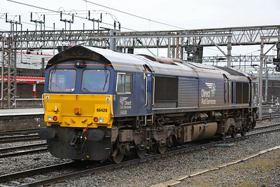 66428, Crewe, about to back onto 1Z05 - 10/02/18