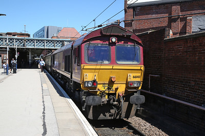 66140, Doncaster, on rear of 1Z25 - 30/06/18