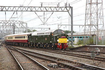 40013 brings the ECS for 1Z40 into Crewe