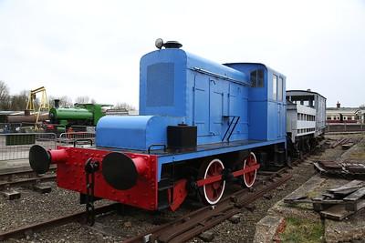 FH 3271/1949, on display, Buckinghamshire Railway Centre, Quainton Road - 17/03/18