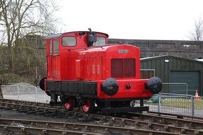 RH 463153/1961 'Hilsea', on display, Buckinghamshire Railway Centre, Quainton Road - 17/03/18