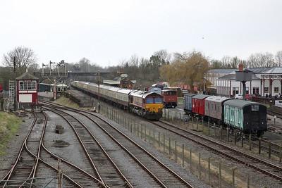 66110, Quainton Road, on rear of 1Z18 - 17/03/18
