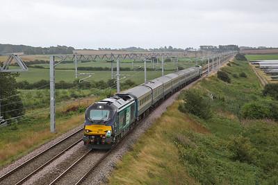 68008 (68034 rear), Singleton, 1Z46 - 10/08/19