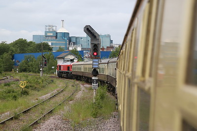 66078, Arpley Junction, heading for Latchford Sidings, on rear of 1Z71 - 01/06/19