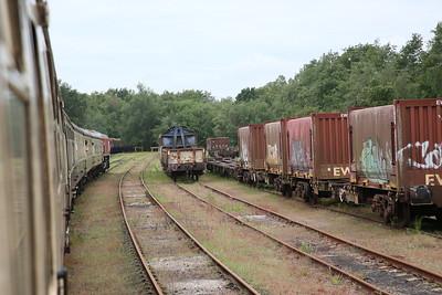 66078 heading into Walton Old Yard, Warrington, 1Z71 - 01/06/19
