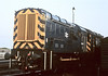 08597 + 08741 are stabled at Toton on 22 July 1984