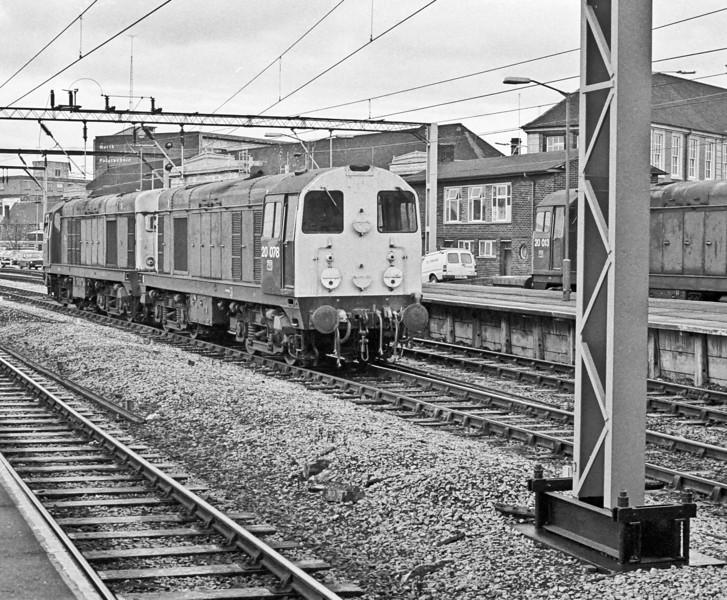 20078 + 20147 Stoke 11 November 1986
