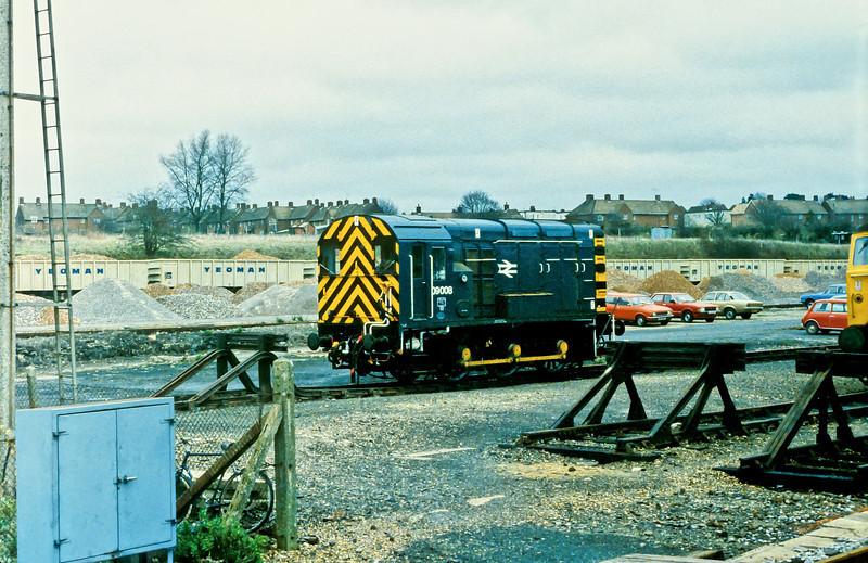 09008 at Basingstoke 21 November 1982