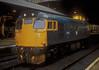 27052 sits in Edinburgh Waverley on 9 November 1985