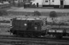 08657 is moving a few wagons around at York on 2 October 1985