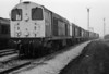 20115 heads up a row of sister engines at Tinsley on 29 September 1985