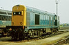 20144 waits its next duty at Toton on 21 August 1984